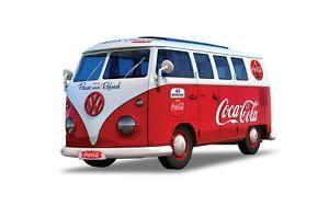Volkswagen bus combi T1 Coca Cola a monter style Lego 19,8cm  Airfix neuf