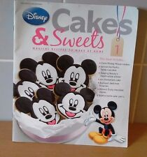 Disney Cakes And Sweets Magazine Issue One