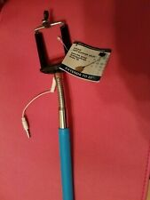 Extendable Handheld Wired Remote Shutter Selfie Stick Monopod