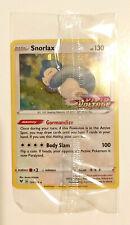 Snorlax 131/185 Pokémon Sword & Shield Vivid Voltage Promo card STAMP