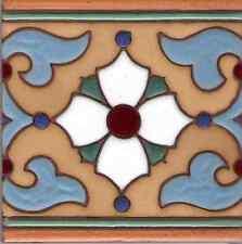 """Spanish Ceramic Tile Khalili 'C' 6""""x6"""""""