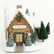 Thomas Kinkade 2001 Hawthorne Village St. Nicolas Christmas Shop 79980