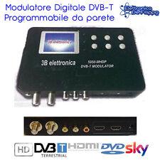 MODULATORE DIGITALE TERRESTRE HDMI DVB-T DVD DVR HD RCA AUDIO VIDEO