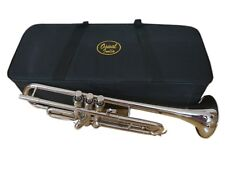 NEW STUDENTS SALE!!! BRAND NEW SILVER Bb TRUMPET FREE CASE+7C MOUTHPIECE