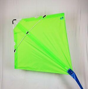 PETER POWELL Stunt Kite MKIII NEON GREEN  - Adults Kids Outdoor Sport Toy