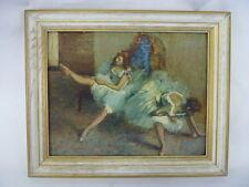 Vintage Before the Ballet Edgar Degas Framed Print