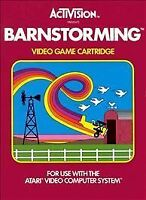 Activision Barnstorming (Atari 2600) Original Box, Game, Instructions, & Catalog