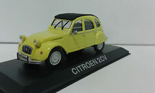 CITROEN 2CV YELLOW LEGENDARY BALKAN CARS DEAGOSTINI IXO 1/43