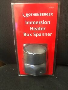 ROTHENBERGER IMMERSION HEATER BOX SPANNER 80735 PLUMBING TOOLS 86mm TOMMY BAR