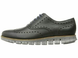 Cole Haan ZEROGRAND WING Oxfords Navy / Cobblestone Men's Leather C25005