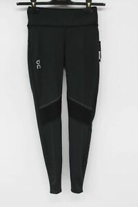 ON-RUNNING Ladies Performance Black Stretch Running Trouser Leggings XS BNWT