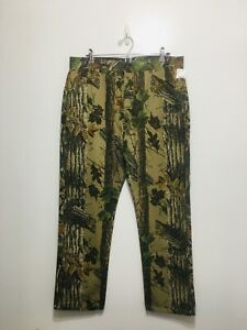 Men's Duxbak Realtree Camouflage Heavy Duty Work Pants Durable Cotton NWT - T8