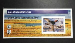 #RW71A 2004 - 2005 - US Federal Duck Stamp - Post Office FRESH