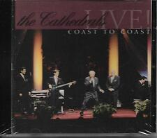 "THE CATHEDRALS....""LIVE""....""COAST TO COAST""......NEW OOP LIVE GOSPEL CONCERT CD"