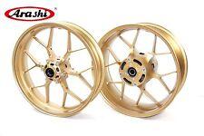 Arashi Motorcycle Rear & Front Wheel Rims for HONDA CBR1000RR 2008-2016 Gold
