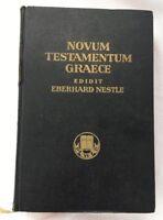 Novum Testamentum Graece Edidit Eberhard Nestle Hardback R1