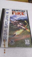 Black Fire (Sega Saturn) Complete 81003, VERY NICE