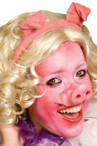 WOOCHIE PIG FACE NOSE MOUTH ANIMAL MISS PIGGY PROSTHETIC COSTUME MAKEUP FA31SM