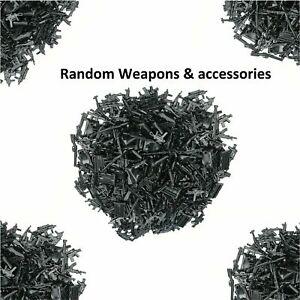 Guns Weapon Pistols Rifles Military Army Custom Accessories Fits Minifigure