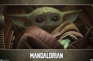 THE MANDALORIAN - BABY YODA POSTER - 22x34 - STAR WARS 18511
