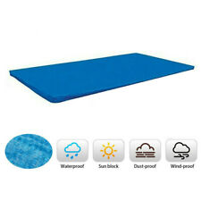 More details for rectangular swimming pool cover for intex bestway garden paddling pools cover uk