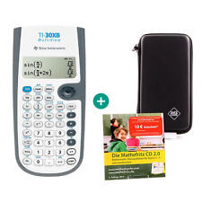 TI 30 XB multifenêtre calculatrice + sac de protection et de maths Fritz d'apprentissage-CD