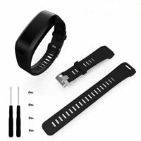 Silikon Armband Uhrenarmband Wrist Strap Für Garmin Vivosmart HR mit Werkzeug