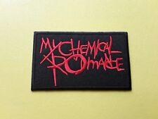 POP, ROCK, PUNK, METAL MUSIC SEW ON & IRON ON PATCH:- MY CHEMICAL ROMANCE