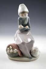 Lladro Spain Porcelain The Duck Seller - Figurine #1267 By Juan Huerta, Retired