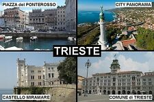 SOUVENIR FRIDGE MAGNET of TRIESTE ITALY