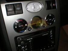 + Ford Mondeo MK3 00-07 Alu Ringe für Lüftungsregler / Heizungsregler Regler  +