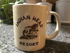 Indian Head Resort New Hampshire Motel Coffee Mug Old Man Of The Mountain