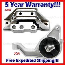 L815 Fit 05-10 Chevy Cobalt HHR Pontiac G5 2.2/2.4L AUTO Motor & Trans Mount 2pc