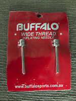 Brand New Buffalo Brand Pack of Two Sports Ball Inflation Pump Needles