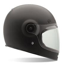 Bell Solid Matte Black 2018 Bullitt Motorcycle Helmet