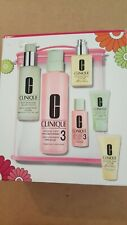 Clinique Great Skin Everywhere Types 3 & 4 oilier oily 3 step 7 pc Set  NIB