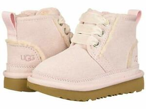 NEW TODDLER UGG NEUMEL II SPILL SEAM SEASHELL PINK  BOOT 1104893T ORIGINAL