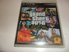 PlayStation 3 ps3 Grand Theft Auto: episodes from Liberty City USK 18