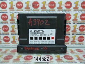 11 2011 CHEVROLET EQUINOX BODY CONTROL MODULE BCU BCM 13578704 OEM