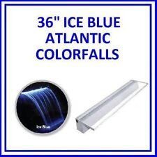 "Atlantic Water Gardens Waterfall Colorfalls 36"" w/ Ice Blue LED Lights CF36B"