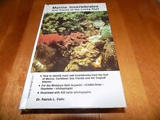 MARINE INVERTEBRATES AND PLANTS Invertebrate Reefs Salt Water Aquariums Book NEW
