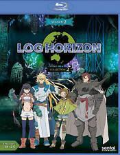 Log Horizon: Season 2 - Collection 2 (Blu-ray Disc, 2016, 2-Disc Set)