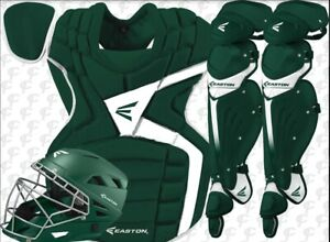 Under Armour Womens Pro Catchers Gear Fastpitch Softball Set Kit Green/Gray