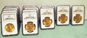 MS62  NGC GOLD COIN $20 LIBERTY FROM 1922-1927 PRICE IS EACH COIN 26 AVAILABLE
