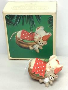 1984 Hallmark Keepsake Ornament - Napping Mouse