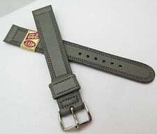 "NEET,17mm,XLong,40's,NOS USA,""WW2 German Grey"" US MADE,MEN'S WATCH BAND,B17-14"