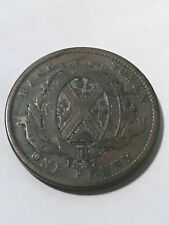1837 Lower Canada 2 Sous VG #19589