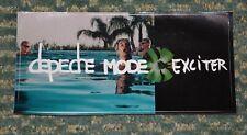 "Depeche Mode Exciter Sticker Size 7"" x 3.5"""