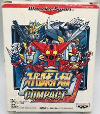 Wonderswan Bandai Super Robot Wars Compact 1 Japan Ver US Seller