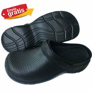 Calzados médicos de cocina para mujeres Zapatos de trabajo en negro o blanco